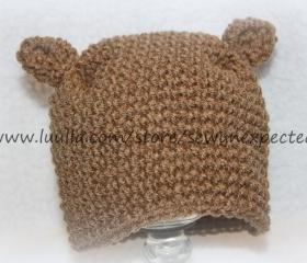 Baby bear hat
